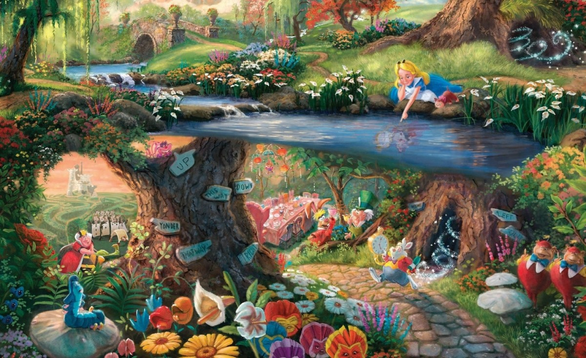 Jigsaw Puzzle Solve jigsaw puzzles online - The magical world of Alice