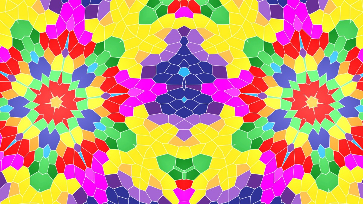 Jigsaw Puzzle Solve jigsaw puzzles online - Cellular kaleidoscope
