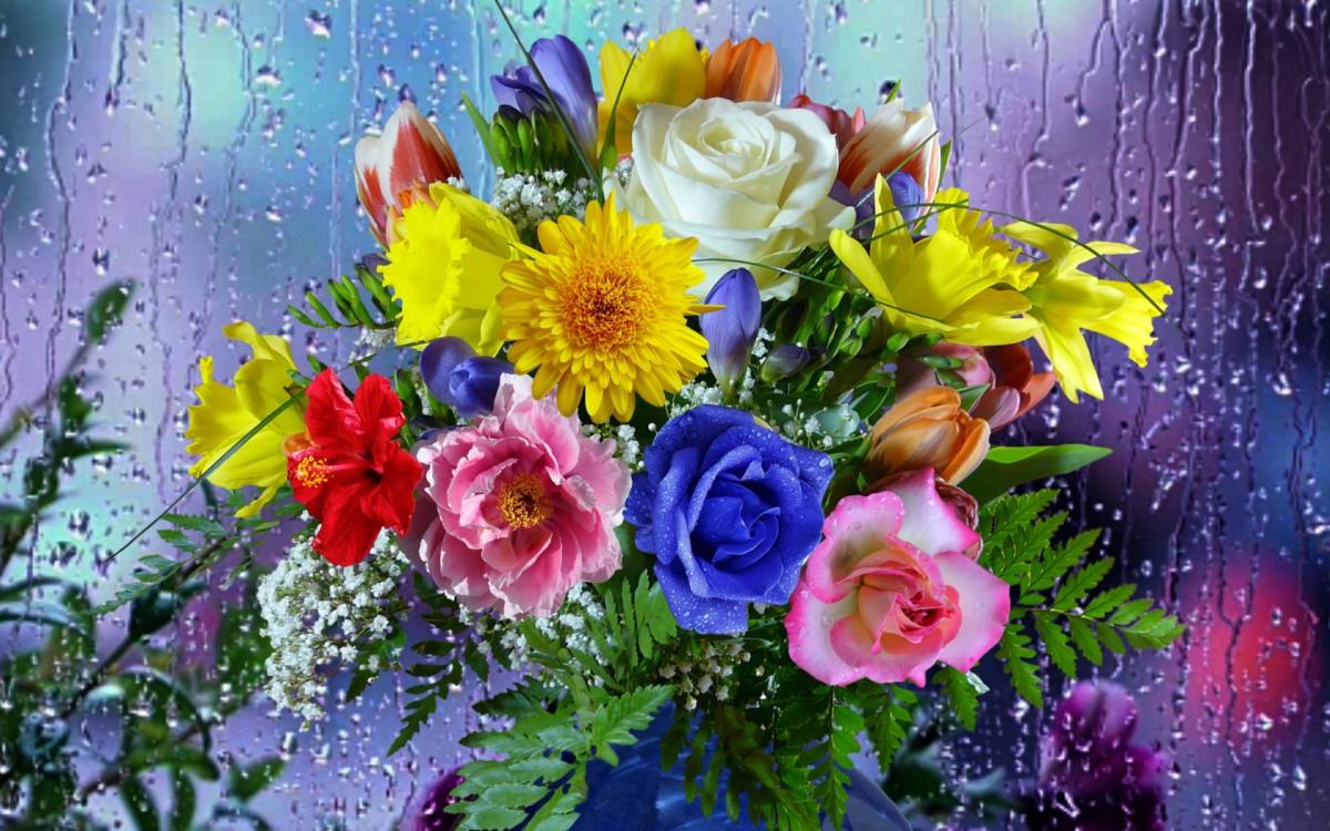 Jigsaw Puzzle Solve jigsaw puzzles online - Bright bouquet