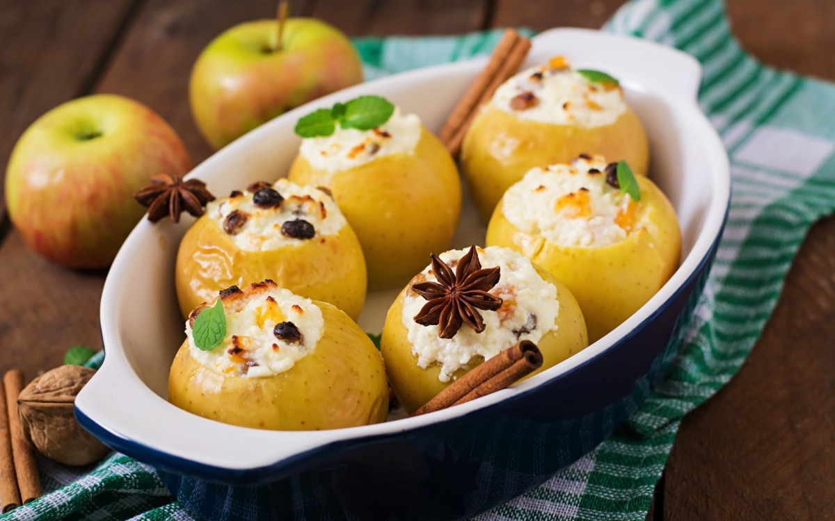 Jigsaw Puzzle Solve jigsaw puzzles online - Baked apples
