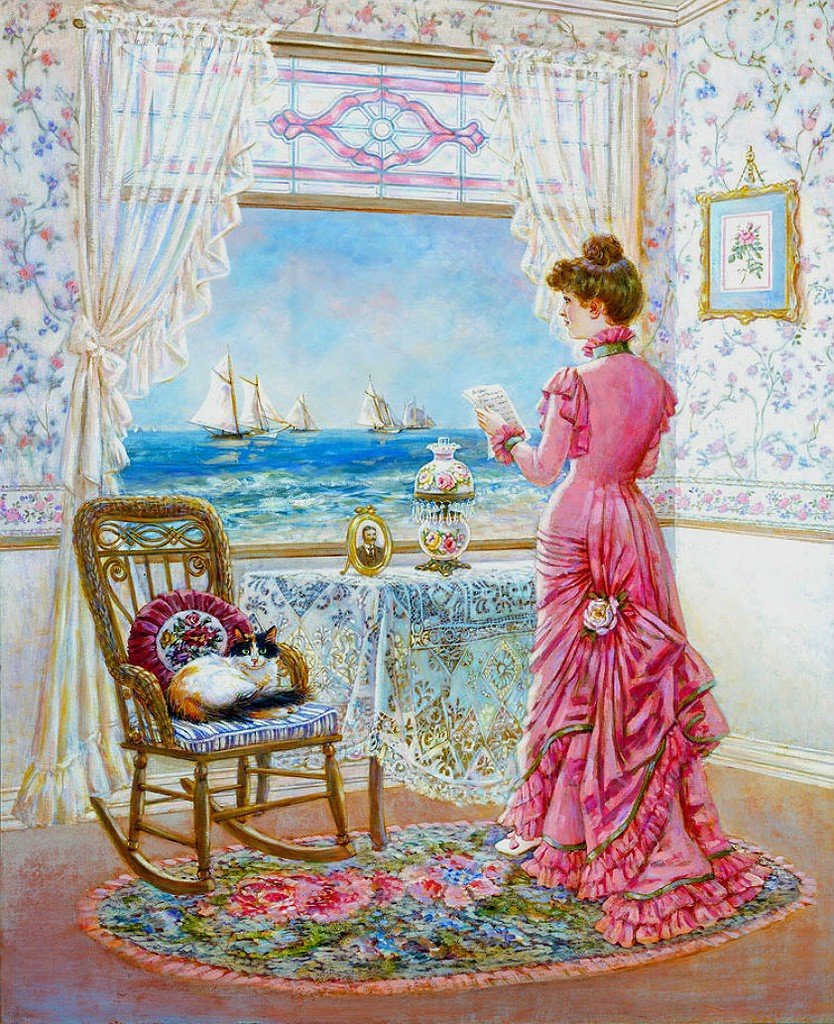Jigsaw Puzzle Solve jigsaw puzzles online - Painting of artist