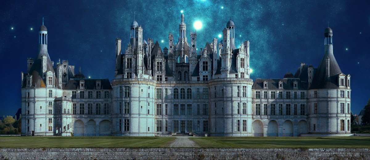 Jigsaw Puzzle Solve jigsaw puzzles online - The stars above the castle