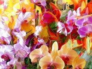 Собирать пазл Abstract stained glass онлайн