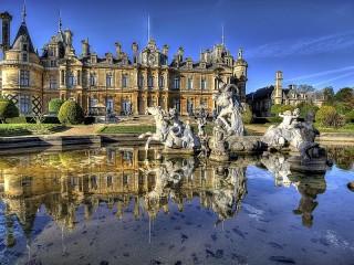 Собирать пазл English manor онлайн