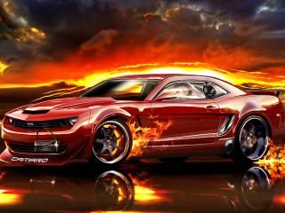 Собирать пазл Avtomobil Chevrolet онлайн