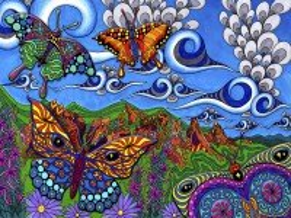 Собирать пазл Butterflies онлайн