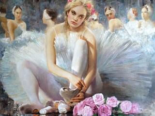 Собирать пазл Ballerina онлайн
