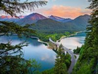 Собирать пазл Mountains in Bavaria. Germany онлайн