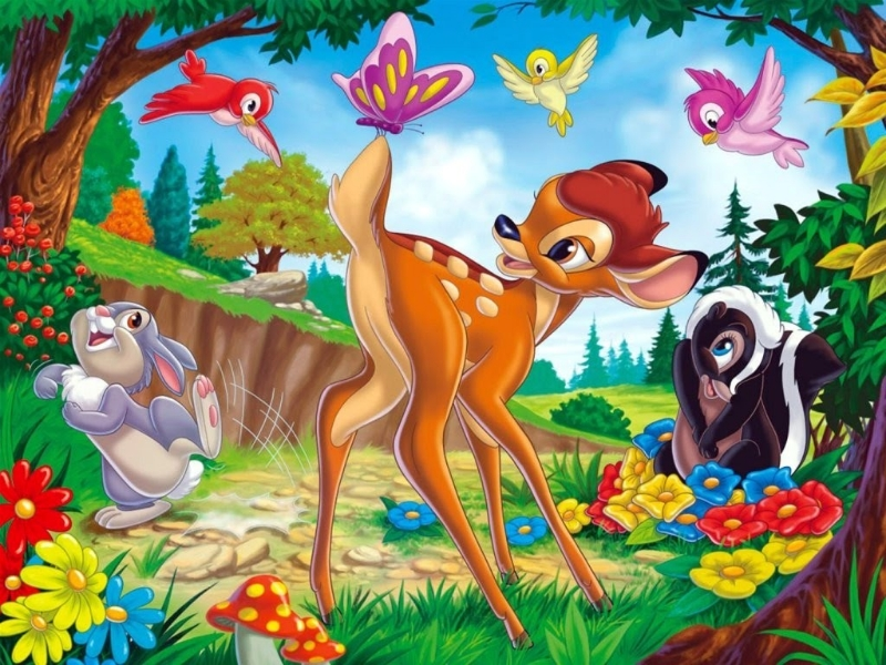 Jigsaw Puzzle Solve jigsaw puzzles online - Bambi