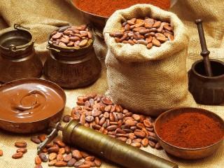 Собирать пазл Cocoa beans онлайн