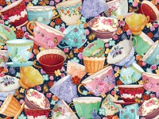 Собирать пазл Tea cups онлайн