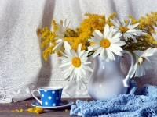 Собирать пазл Cup polka dot онлайн