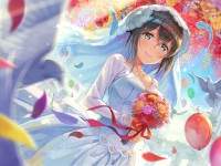 Собирать пазл Wedding day онлайн