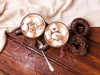Собирать пазл Two mugs онлайн