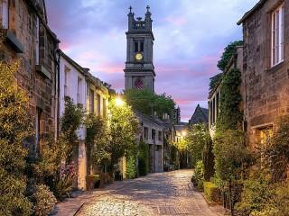 Собирать пазл Edinburgh онлайн