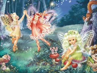 Собирать пазл Fairies онлайн