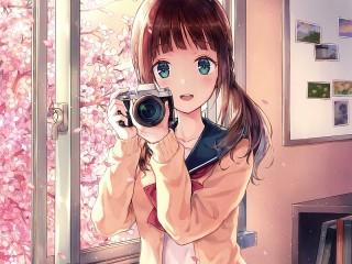 Собирать пазл Photographer онлайн