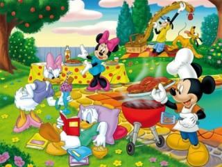 Собирать пазл Cartoon characters онлайн