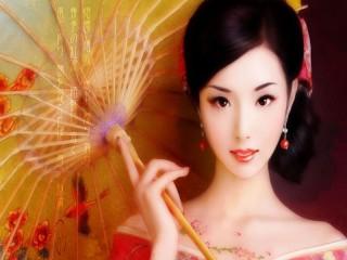 Собирать пазл geisha онлайн