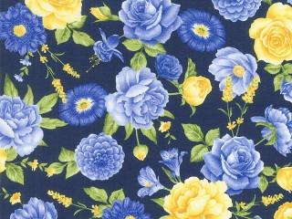 Собирать пазл Blue and yellow онлайн