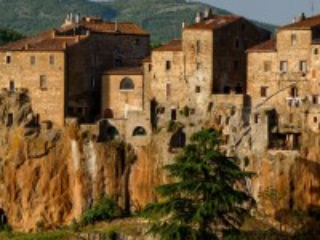 Собирать пазл Pitigliano town онлайн