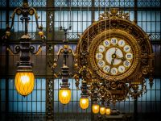 Собирать пазл City clock онлайн