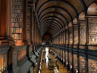 Собирать пазл Huge library онлайн