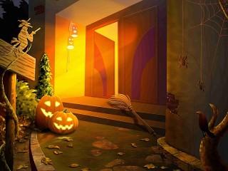 Собирать пазл Halloween онлайн