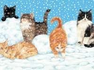 Собирать пазл Games in snow онлайн