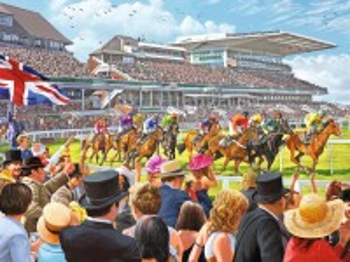 Собирать пазл Racecourse онлайн
