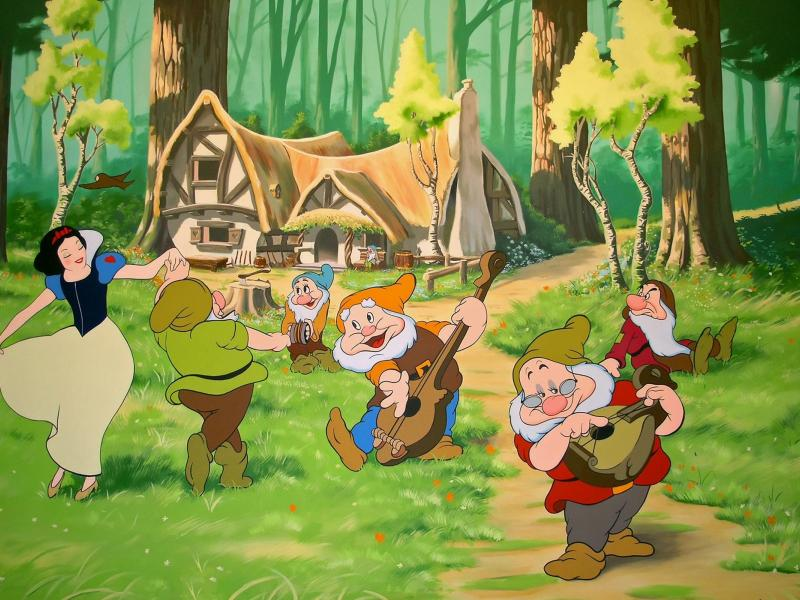 Jigsaw Puzzle Solve jigsaw puzzles online - Picture of snow white