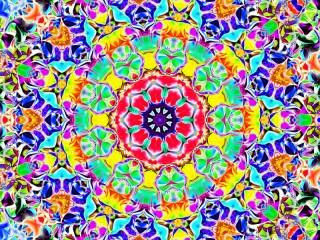 Собирать пазл Kaleidoscope онлайн