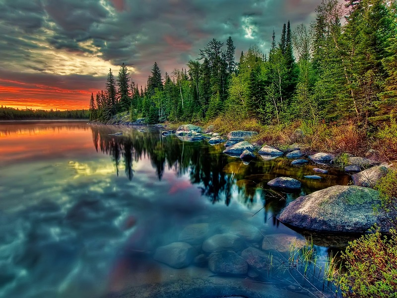 Jigsaw Puzzle Solve jigsaw puzzles online - Stones on the shore