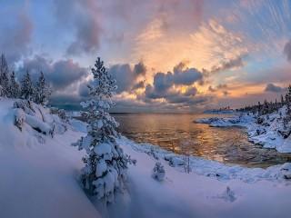 Собирать пазл Karelia онлайн