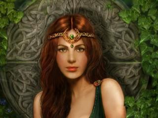 Собирать пазл Celtic princess онлайн