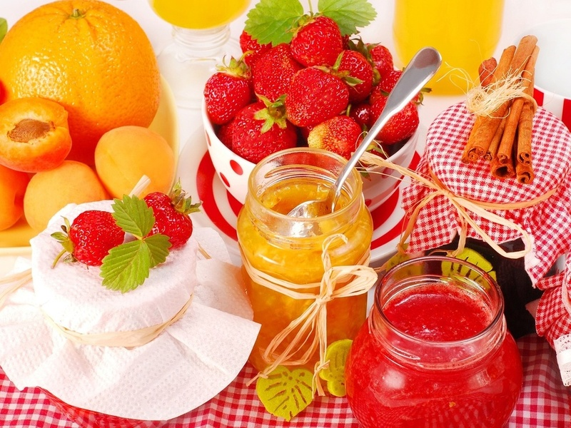 Jigsaw Puzzle Solve jigsaw puzzles online - Strawberries and oranges