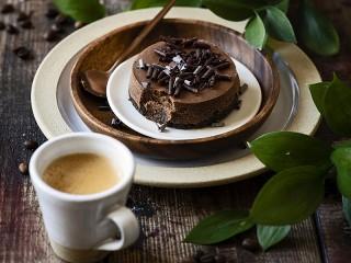 Собирать пазл Coffee and cake онлайн