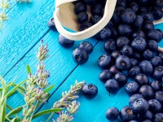 Собирать пазл Blueberry basket онлайн