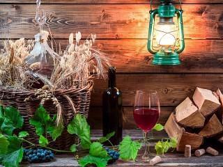 Собирать пазл Red wine онлайн