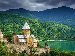 Собирать пазл Fortress in Georgia онлайн