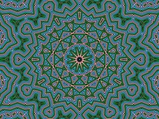 Собирать пазл Circular pattern онлайн
