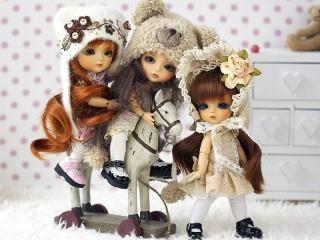 Собирать пазл Dolls онлайн