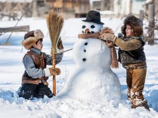Собирать пазл Lepim snegovika онлайн