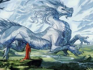 Собирать пазл The magician and the dragon онлайн