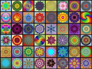 Собирать пазл Mandala онлайн