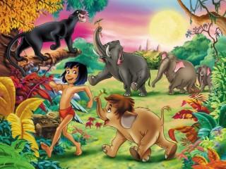 Собирать пазл Mowgli онлайн