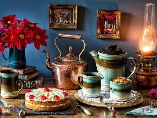 Собирать пазл Copper kettle онлайн