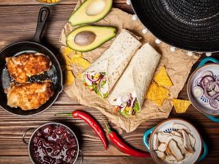 Собирать пазл Mexican snacks онлайн