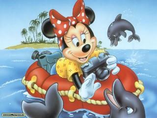 Собирать пазл miki i delfini онлайн