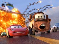 Собирать пазл Lightning McQueen and Mater онлайн